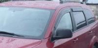 Дефлекторы окон (ветровики) для Dodge Journey 2008-...г.в.