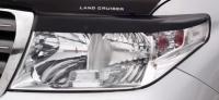 Реснички на передние фары для Toyota Land Cruiser 200 2007-2011 г.в.
