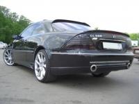 Бампер задний в стиле F1 для Mercedes Benz CL-class W215 2000-2006 г.в.