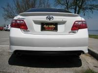 Накладка (юбка) на бампер задний для Toyota Camry XV40 2007-2011 г.в.