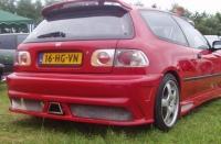 Бампер задний обвеса Millenium для Honda Civic 1992-1995 г.в.