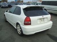 Накладка (юбка) на бампер задний для Honda Civic VI 1998-2000 г.в. хэтчбек