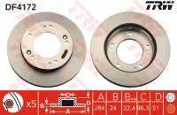 Тормозные диски передние для KIA Sportage I (1994-2005)