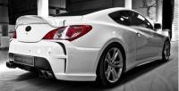 Бампер задний Vega для Hyundai Genesis 2010-2012 г.в. купе