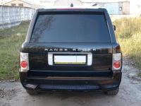Бампер задний в стиле New Max для Land Rover Range Rover Voque