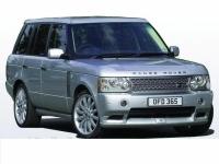 Накладка (юбка) в стиле Overfinch на бампер передний для Land Rover Range Rover Voque (рестайлинг и дорестайлинг)