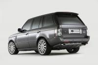 Накладка (юбка) в стиле Overfinch на бампер задний для Land Rover Range Rover Voque (рестайлинг и дорестайлинг)