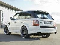 Накладка (юбка) в стиле Hamman на бампер задний для Land Rover Range Rover Voque