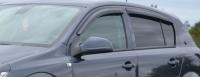 Дефлекторы окон (ветровики) для Opel Astra H (2004- г.в.) 5 дверный хэтчбек