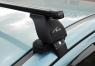 Багажник Lux для Mitsubishi Lancer X (с прямоугольными дугами)