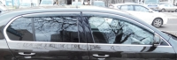 Дефлекторы окон (ветровики) для Skoda Octavia III 2013-...г.в.