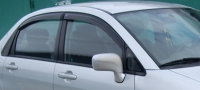 Дефлекторы окон (ветровики) для Suzuki Liana (2002-2007) седан