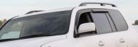 Дефлекторы окон (ветровики) для Toyota Land Cruiser 200 (2007-... г.в.)