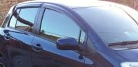 Дефлекторы окон (ветровики) для Toyota Yaris II (2005-2011) 5 дверный