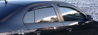 Дефлекторы окон (ветровики) для Volkswagen Jetta V (2005-2010)