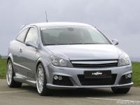 Бампер передний в стиле Lumma для Opel Astra H - GTC 2004-2010 г.в.