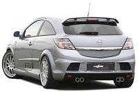 Бампер задний в стиле Lumma для Opel Astra H - GTC 2004-2010 г.в.
