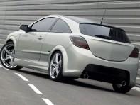 Бампер Pam задний для Opel Astra H - GTC 2004-2010 г.в.
