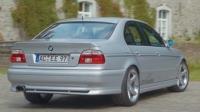 Накладка на бампер задний Shnitzer для BMW-5 серии E-39 1995-2003 г.в. седан