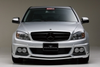 Бампер передний Wald для Mercedes Benz C-class W204 кузов 2007-...г.в.