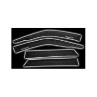 Дефлекторы окон (ветровики) Prosport для Audi A4 (2001 - ... г.в.)