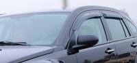 Дефлекторы окон (ветровики) для Dodge Caliber 2006-...г.в. 5-дверный