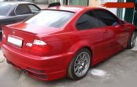Дефлектор на заднее стекло и спойлер для BMW-3 серии E46 1998-2005 г.в.