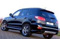 Накладка на бампер задний ATH для Hyundai Santa Fe 2006-2010 г.в.